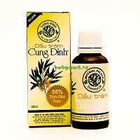 Cung Dinh Cajeput Oil SILVER 30ml