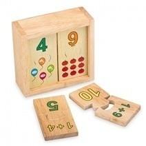 Đồ chơi gỗ - Bộ học số