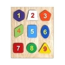 Đồ chơi gỗ - Bộ xếp 9 hình