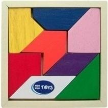 Đồ chơi gỗ - Bộ xếp đa giác Winwintoys