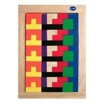 Đồ chơi gỗ - Bộ xếp gạch