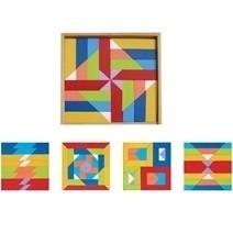Đồ chơi gỗ - Bộ xếp hình đa năng 60152