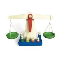 Wooden Balance Beam Weighing Scale