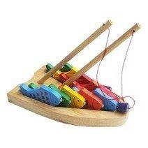 Đồ chơi gỗ - Câu 10 cá số