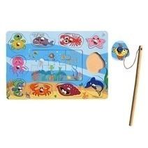 Đồ chơi gỗ - Câu thú biển Winwintoys 61362