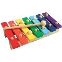 Đồ chơi gỗ - Đàn mộc cầm 7 thanh
