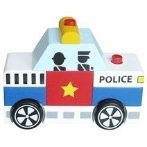 Đồ chơi gỗ - Lắp ráp xe cảnh sát Winwintoys