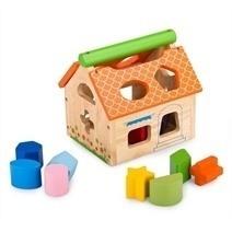 Đồ chơi gỗ - Nhà thả 12 khối