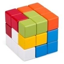 Đồ chơi gỗ - Rubik 7 màu