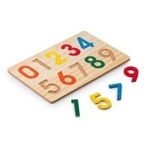 Wooden Learning Numbers Puzzle (0 – 9)