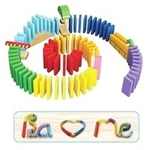 Đồ chơi gỗ - Trò chơi xếp Domino