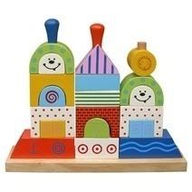 Đồ chơi gỗ - Xếp hình chiếc thuyền