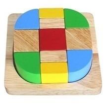 Đồ chơi gỗ - Xếp hình sáng tạo