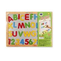 Đồ chơi gỗ - Bảng chữ cái nam châm 68312