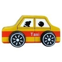 Đồ chơi gỗ - Xe taxi 65282
