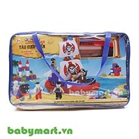 Building block toy 169 pirate