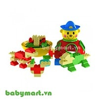 Creative puzzle toy clown 268