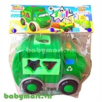 Puzzle toy Garbage Truck 290