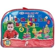 Đồ chơi xếp hình sáng tạo 4 cho bé