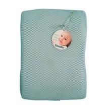 Gối thông khí Lucky Baby màu xanh