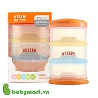 Wesser 3 Layers Milk Powder Container