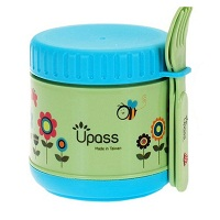 Upass Food Warmer With Spoon + Fork 300cc
