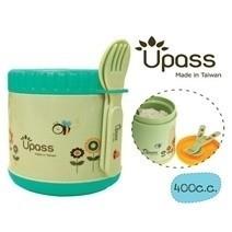 Hộp giữ ấm thức ăn UPASS kèm theo muỗng nĩa 500cc
