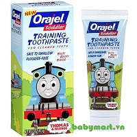 Orajel training toothpaste flavor