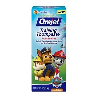 Orajel training toothpaste fruity