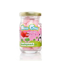 Moocow milk candy strawberry