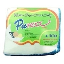 Purexx 4 Layered Gauze Towel (Small)