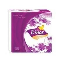 Khăn giấy vuông Emos 100 tờ