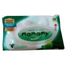 Mamamy Wet Wipes Without Smell 100 Pieces