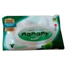Khăn ướt Mamamy không mùi 100 tờ