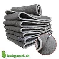 Black Bamboo Charcoal pads size M
