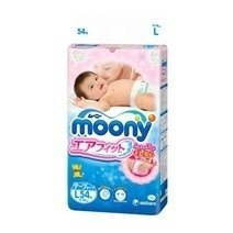 Moony Tape Diaper L54