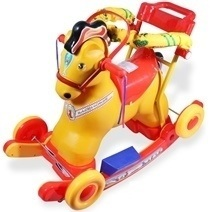 Rocking Horse With Safety Belt