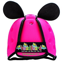 Nón mũ bảo hiểm cho bé Headguard hồng