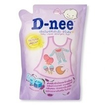 Dnee Baby Liquid Detergent 600ml - Yellow Moon