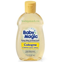 Nước rửa khô Cologne Baby Magic 207ML
