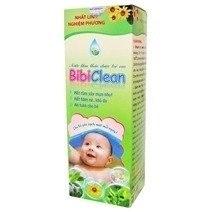 Nước tắm thảo dược trẻ em BibiClean 250ml
