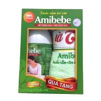 Nước tắm trẻ em Amibebe 250ml kèm quà tặng