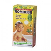 Rombebe baby shampoo & shower 125ml