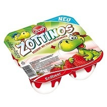 Zott Zottinos Strawberry Yogurt
