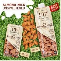 Sữa hạt hạnh nhân nguyên chất 1000ml