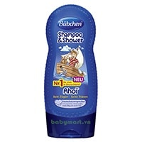 Bubchen shampoo & shower ahoi 230ml