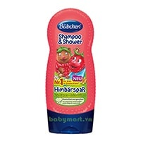 Bubchen shampoo & shower strawberry 230ml