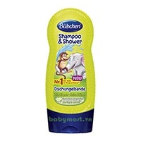 Bubchen shampoo & shower tropical 230ml