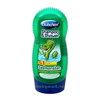 Bubchen shampoo & shower seemonster 230ml