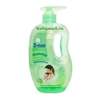 D-nee pure Head & Body Baby Wash 800ml green